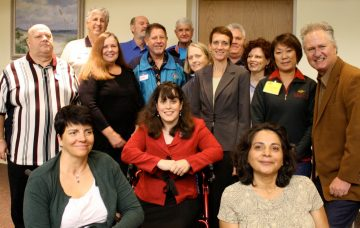 Beaches Council for the Disabled members and Beaches Watch Board members
